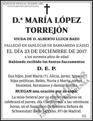 María López Torrejón